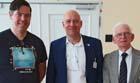 V.l.n.r.: Prof. Dr. Oliver Rose, szenaris Geschäftsführer Dr. Uwe Katzky und Prof. Dr. Axel Lehmann